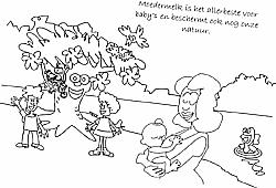 Borstvoeding de natuurlijke manier kleurboek